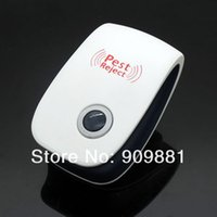 Wholesale Eco Friendly KHz Ultrasonic Electronic Mosquito Pest Mouse Cockroach Repeller With EU Plug