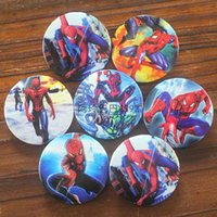 amazing animations - Amazing spider man Spiderman METAL TIN BADGE buckle BROOCH BADGE decorative cartoon animation cm