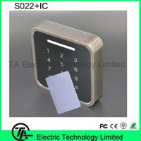 Wholesale Biometric s022 wiegand input access control MHZ IC card access control with keypad proximity card door access control