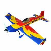 airplane scale model kit - Electric plane Extra quot Channels Oracover Film Large Scale RC Balsa Wood Model Airplane