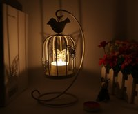 Wholesale Creative gifts classical iron candle Holders