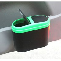 Wholesale Environmental Protection Hanging Type Garbage Can Fashion and Creative Car Use Garbage Box Car Garbage Can