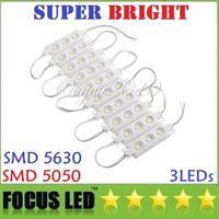 Wholesale Backlighting W LEDs Led Modules Injection ABS Waterproof IP65 V Led Lights Modules For Channer Letter Billboard