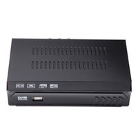 Wholesale Full HD DVB S2 Digital Video Broadcasting TV Receiver Set Top Box DVB S Mpeg4 Supports BISS Key for TV HDTV