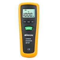 Wholesale KKMOON Handheld Digital CO Detector Fine Carbon Monoxide Meter High Precision CO Gas Tester Monitor Gauge ppm
