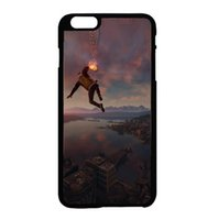 abs city - Infamous Second Son Smoke Ability City View fashion cell phone case for iphone s s c s plus