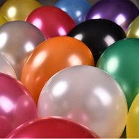 balloon decorating supplies - 10inch g latex pearl light balloon decorate wedding birthday supplies classical toys gifts round balloons