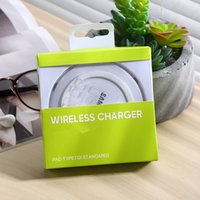 Wholesale Universal Qi Wireless Charger Charging Pad for Samsung Galaxy S6 Edge S5 iPhone Plus S S for LG HTC Nokia Sony ect