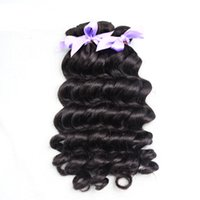 Wholesale 7A Top Grade Eurasian Virgin hair loose wave hair extension can be colored color b human hair extension