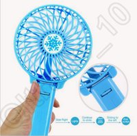Wholesale 60pcs LJJC4286 High Quality Colors Cooling Outdoor Portable Air Conditioning USB Handheld Pocket Summer Mini Fan Foldable Mute USB Fans
