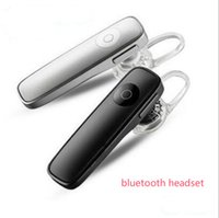 Cheap New M165 Wireless Stereo Bluetooth Headset Earphone mini 4.0 wireless bluetooth handfree universal for all phone With Retail Package DHL