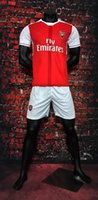 Wholesale camiseta asenal adult shirt Home and Away Soccer jerseys survetement maillot de foot siut football shirt