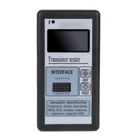 Wholesale Multi functional LCD Backlight Transistor Tester Diode Thyristor Capacitance ESR LCR Meter with Grey Plastic Case
