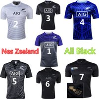 Wholesale New Zealand All Blacks Rugby World cup Jerseys RWC Rugby Jersey Best Quality Training Wear Camouflage Rugby Jerseys