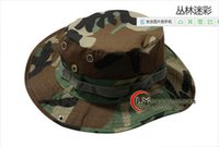 Wholesale Corps Ben Nepalese cap outdoor sun hat fisherman hat men and women tactical camouflage cap hat rounded edges