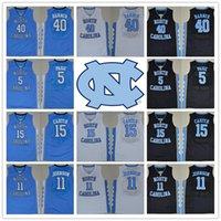 active j - With Logo name Stitched Basketball NCAA New Version North Carolina Carter Barnes PAIGE JOHNSON MICHAEL J Sport
