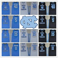 active j - With Logo name Stitched NCAA New Version North Carolina Carter Barnes PAIGE JOHNSON MICHAEL J Sport