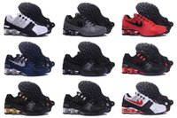 Wholesale Hot Sale Drop Shipping Famous Shox NZ Mens Athletic Sneakers Sports Running Shoes Size