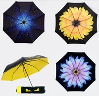 Wholesale 2016 New Novelty Design Personalized Clear Rain Umbrella Super Cute And Compact Manually Fashion Sun visor Umbrella mix color gift umbrella