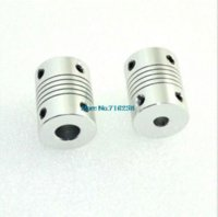 Wholesale 10pcs D printer Stepper Motor Flexible Coupling Coupler Shaft Couplings mm mm mm Dropshipping