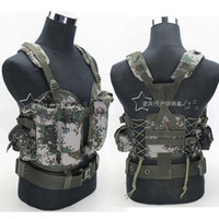 Wholesale Airsoft tactical combat protective best outdoor training tactical vest camouflage paintball tactical vest for men one size