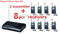 Wholesale 2014 Stage Monitor System New wireless system wpm in ear monitor system Transmitter Receivers In Ear Earphone