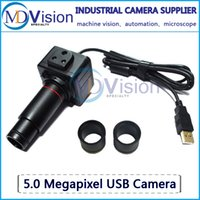 Wholesale USB True M Pixel Camera Industrial Camera Machine Vision Digital Microscope Telescope Medical Image Camera C Mount