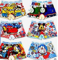 Wholesale Factory s price cartoon pattern cotton boy underwear child briefs boy s shorts lowest price