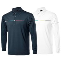 Wholesale New fashionable Golf Clothes Long sleeve Golf T shirt colors S XXL size in choice casual shirt
