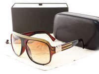 Cheap Resin Lenses brand designeri sunglasses Best Beach Goggle stripe sunglasses