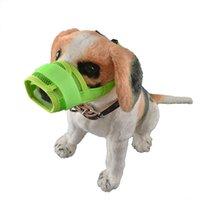 Wholesale 100pcs Breathable Mesh Net Dog Muzzle Anti Bite Dog Mouth Covers Anti called Muzzle Masks Pet Bite proof Toe Clips