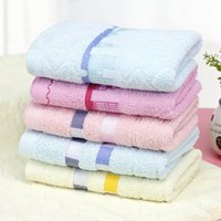 Wholesale 5pcs cm High Quality colorful Nano Cotton Towel cartoon bath towel Microfiber soft Facecloth Hand towel