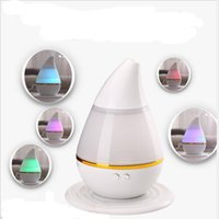 Wholesale Aromatherapy Essential Oil Purifier Diffuser Air Humidifier with Change Colorful LED Light Lamp for Home Office Yoga Spa Baby Bedroom