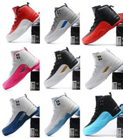 Wholesale Athletic Shoes Kids shoes Children sneakers Air Retro FLU GAME PLAYOFF FRENCH BLUE ovo THE MASTER