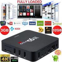 Wholesale Docooler GB DDR3 GB ROM Android TV Box Amlogic S905 Quad Core KODI16 Fully Loaded K XBMC WiFi H Mini PC Smart TV Box