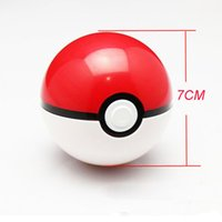 Wholesale 2016 hot sales Pokeman Ball series Game theme Mini toy packing bottles for kids Game player