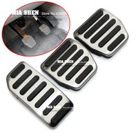 Wholesale 2015 New Design Stainless Steel For VOLVO XC60 V60 S60 S80 Car metal pedal manual style auto accessories