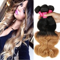 Cheap Brazilian Body Wave Best Two Tone Blonde