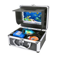 Wholesale Portable Delux Kit Underwater Fishing Camera Video Fish Finder DVR HD TV Lines M Version Usage Time quot TFT LCD Monitor