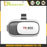 Wholesale 2016 hot sale VR Box II D Virtual Reality Glasses Headset Gear for iphone6 Samsung phone