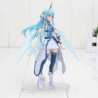 alo free - Anime Sword Art Online II Figma pvc Action Figure Series No Asuna ALO good collection model toys about cm