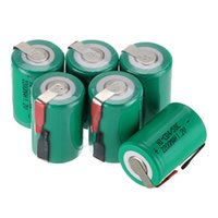 battery tab sub c - new arrival Ni Cd SubC Sub C V mAh Rechargeable Battery with Tab green color