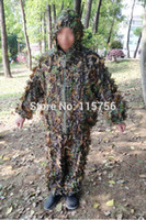 archery suit - Camo D Leaf suit Yowie Ghillie Sniper suit Paintball Archery Hunting CO75215243