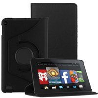 best blackberry models - For Amazon Kindle Fire Model Rotate Leather Case Cover Stand Black best case for tablet tablet protection cover