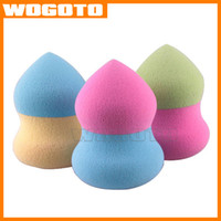 Wholesale Hydrophilicity Makeup Sponge Blender Blending Cotton Powder Puff Dry and Wet Brush Puff Miter Calabash Puff make up tool