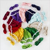 band baby onesies - Baby Floral Flower Romper Hair Band Toddler Candy Color Lace Jumpsuit Hairband Infant Sleeveless Onesies Fashion Bodysuit Diapers B902