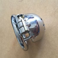 Wholesale 2016 New Lock Design mm Cage Length Stainless Steel Super Small Male Chastity Devices quot Short Cock Cage