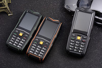 Wholesale Unlocked Big Flashlight F8 IP67 Waterproof shockproof mobile phone mAh Dual sim card Torch Long Standby Power Bank Rugged cell Phone