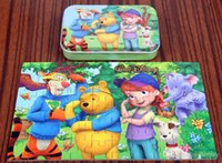 animated children images - Classic animated image puzzles Tin wooden puzzles for intellectual development of children Children s educational toys high quality