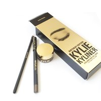 Wholesale Best selling Dark Bronze and Brown Kylie Cosmetics Black Kylie Kyliner Birthday Edition set Chrismas gift